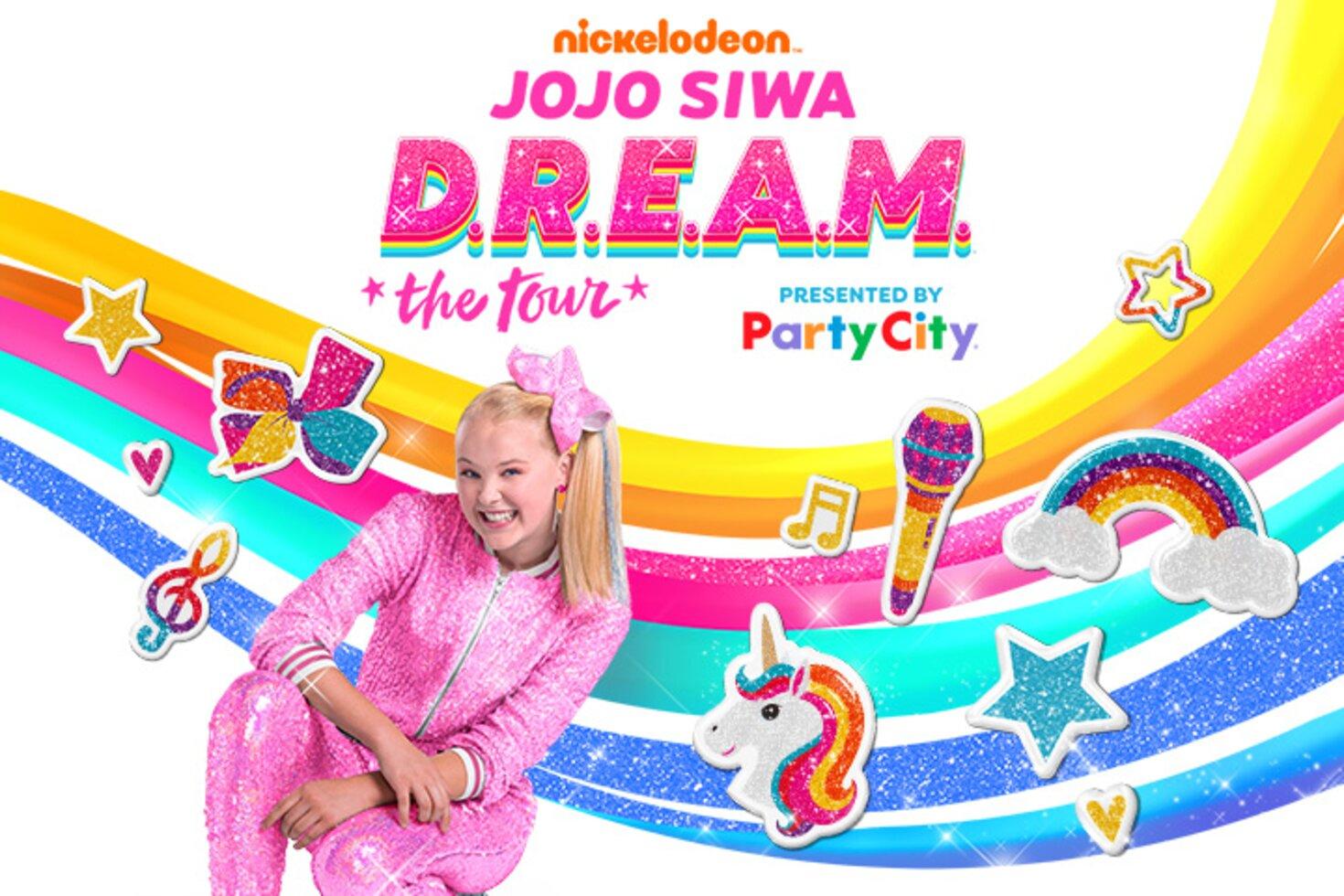 9062eb8684d0d Nickelodeon's JoJo Siwa D.R.E.A.M. The Tour | FedExForum - Home of ...