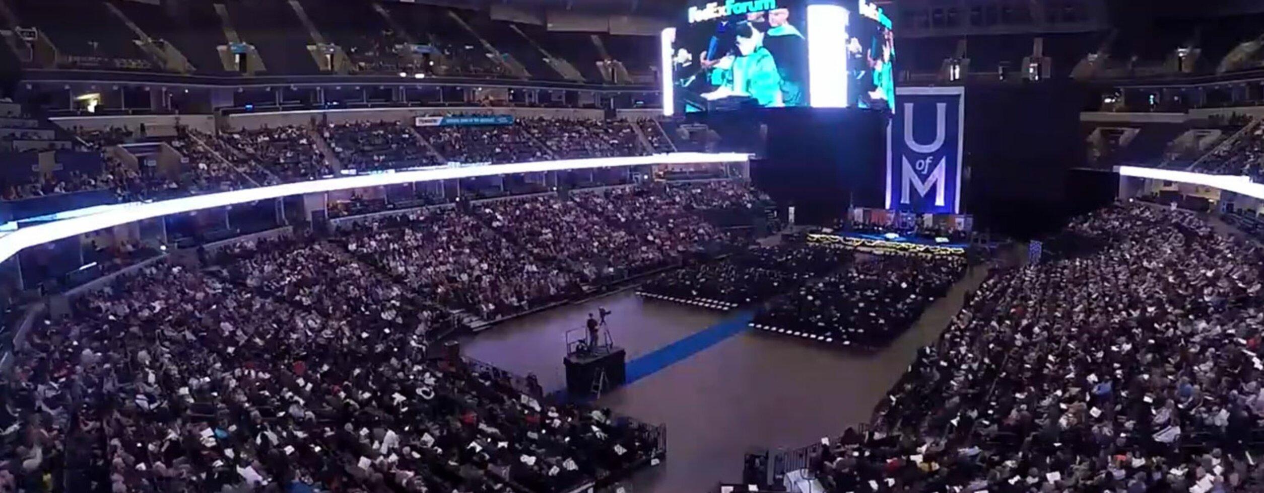 University of Memphis Graduation