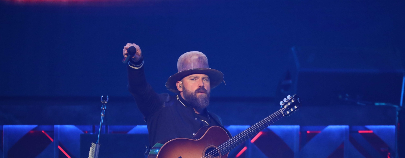 Zac Brown Band performs at FedExForum