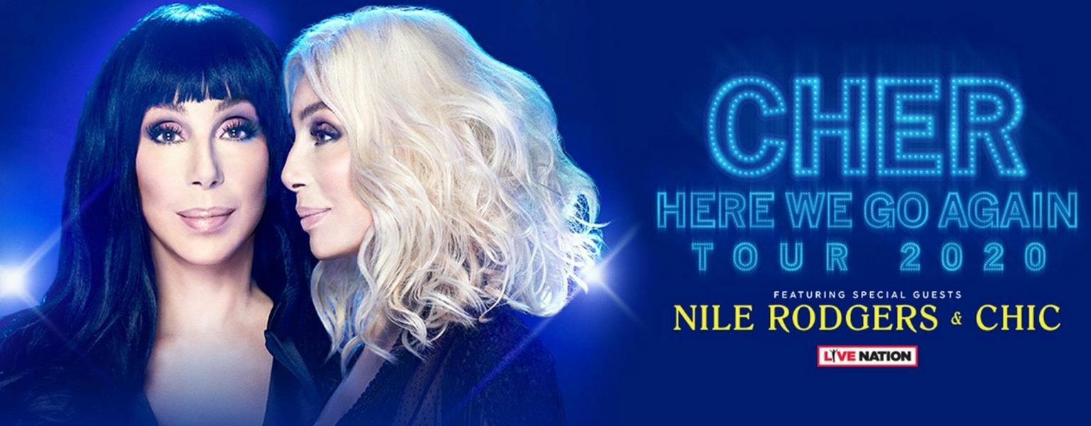 Cher 2020 tour