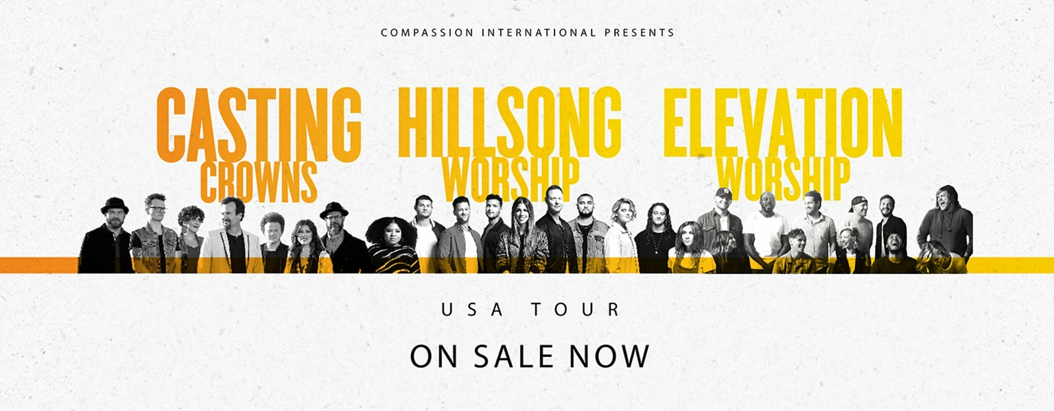 Hillsong Worship, Casting Crowns, and Elevation Worship coming to FedExForum