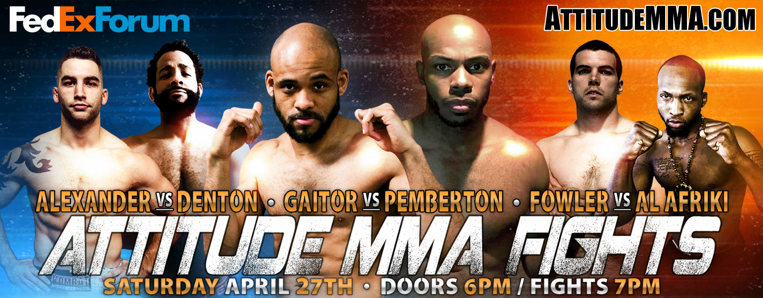Attitude MMA Fights coming to FedExForum April 27