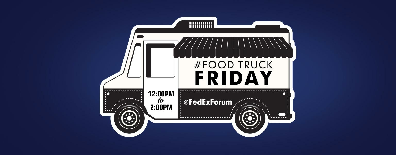 Food Truck Friday, Noon to 2pm