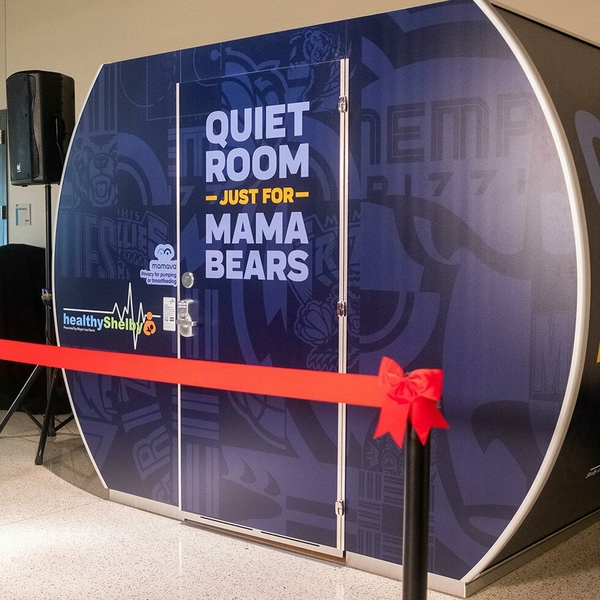 FedExForum and Shelby County unveil first Mamava Lactation Pod in West Tennessee