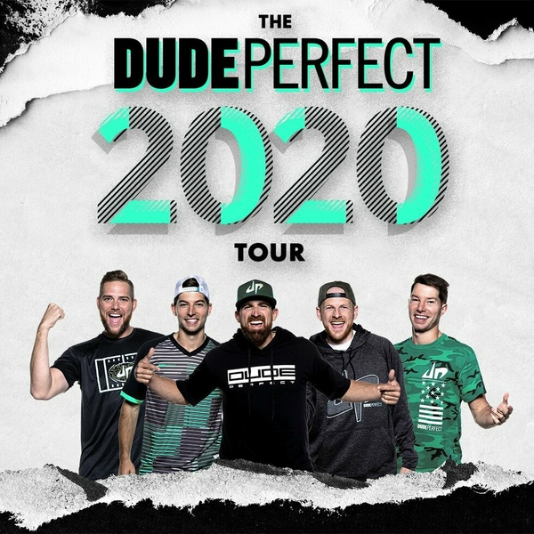 The Dude Perfect 2020 Show at FedExForum is being proactively rescheduled