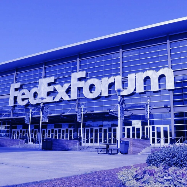 FedExForum to 'Light It Blue' in support of healthcare workers and first responders beginning tonight at 8 p.m.