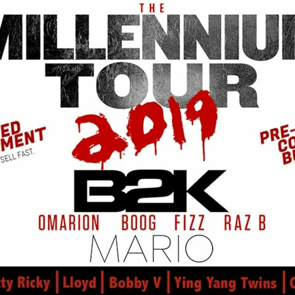 'The Millennium Tour' with B2K to take FedExForum stage Sunday, March 24